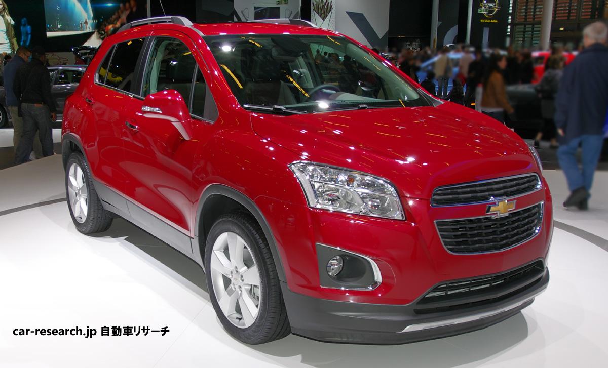 トラックスの日本発売に期待、1.7Lディーゼル搭載のシボレー新型小型SUV