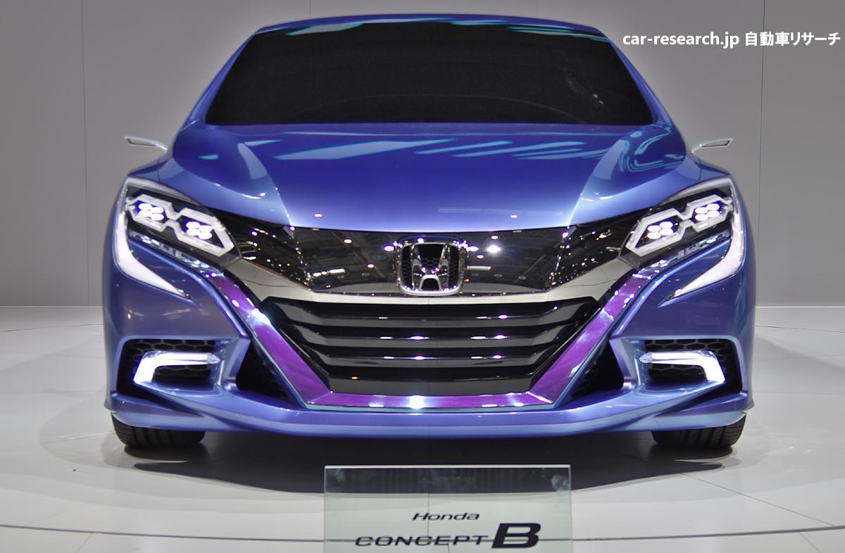 ホンダの新型5ドアハッチバック ハイブリッドカー、コンセプトbを北京で発表 自動車リサーチ