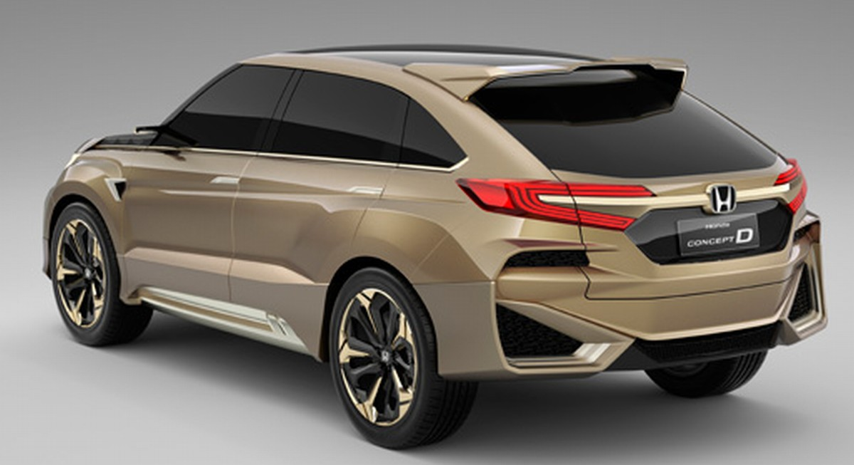ホンダがConcept Dをワールドプレミア、新型クーペSUV、上海モーターショー2015 – 自動車リサーチ