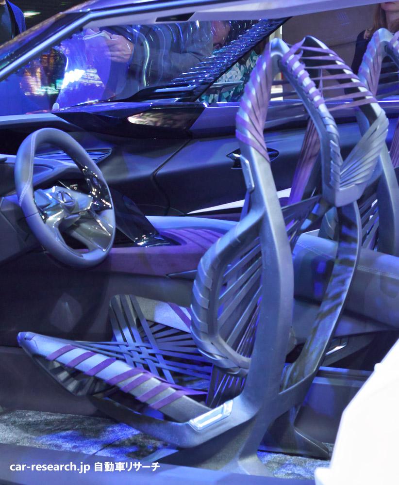 2016 Lexus Ct Interior: レクサスUXコンセプトがパリモーターショーでワールドプレミア、コンパクトSUV
