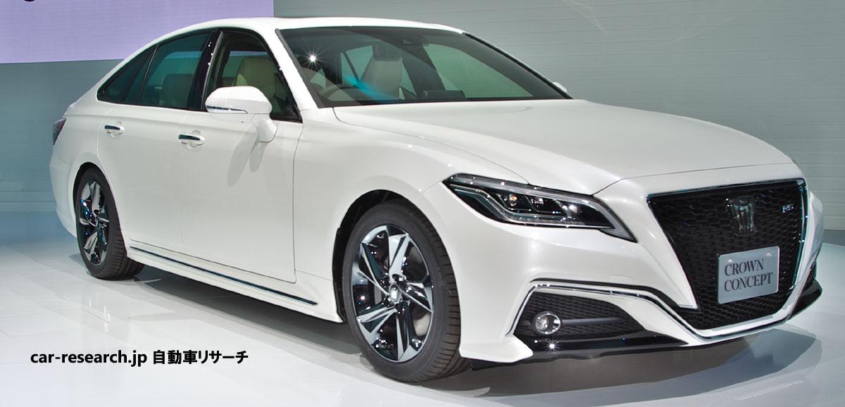 クラウンがフルモデルチェンジ発売、2 0lターボ460万6200円~ 燃費 自動車リサーチ