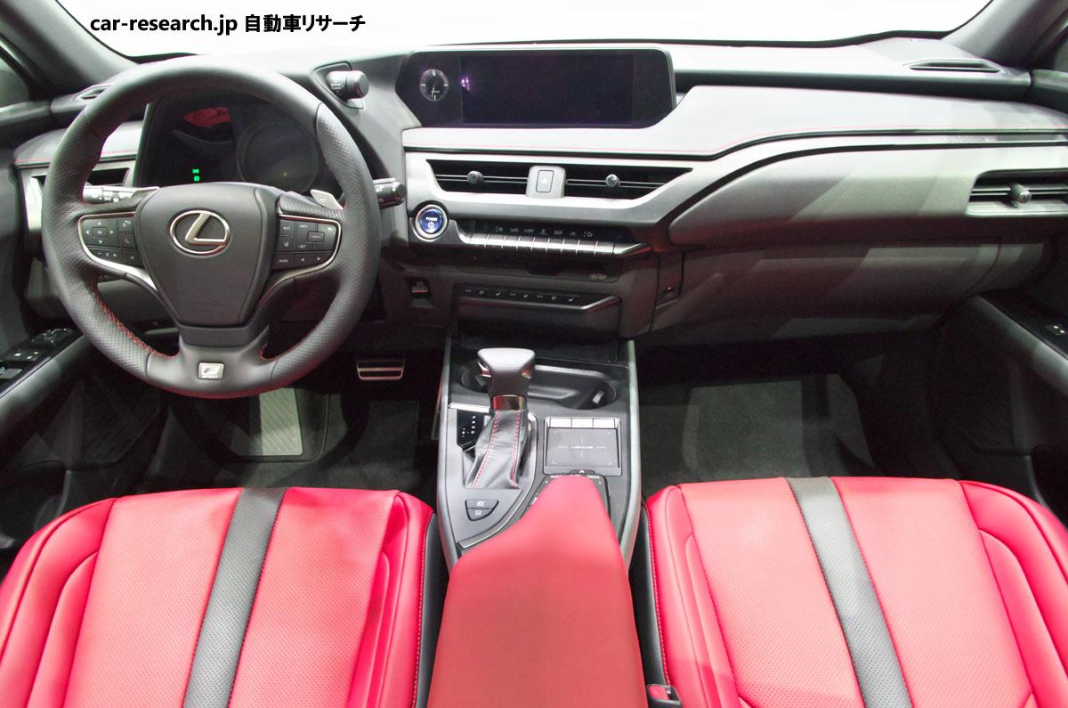 UX250h インテリア UX250h フロントシート