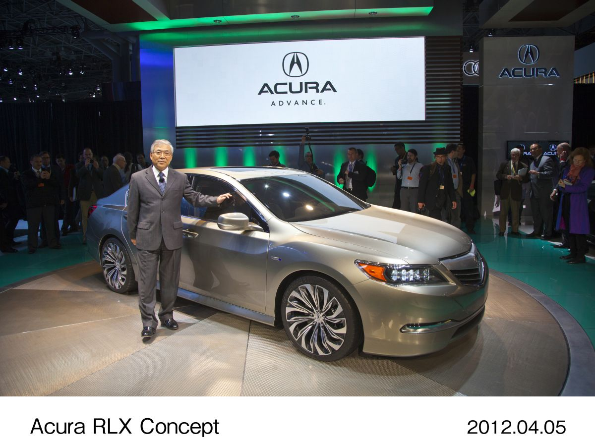 concept will be released as new acura rl in the north american market