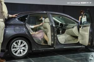 Sentra Sylphy rear seat