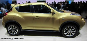 JUKE is a rival product of FIT SUV