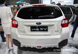 SUBARU XV BACK