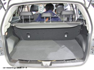 subaru XV trunk