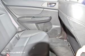 subaru XV rearseat