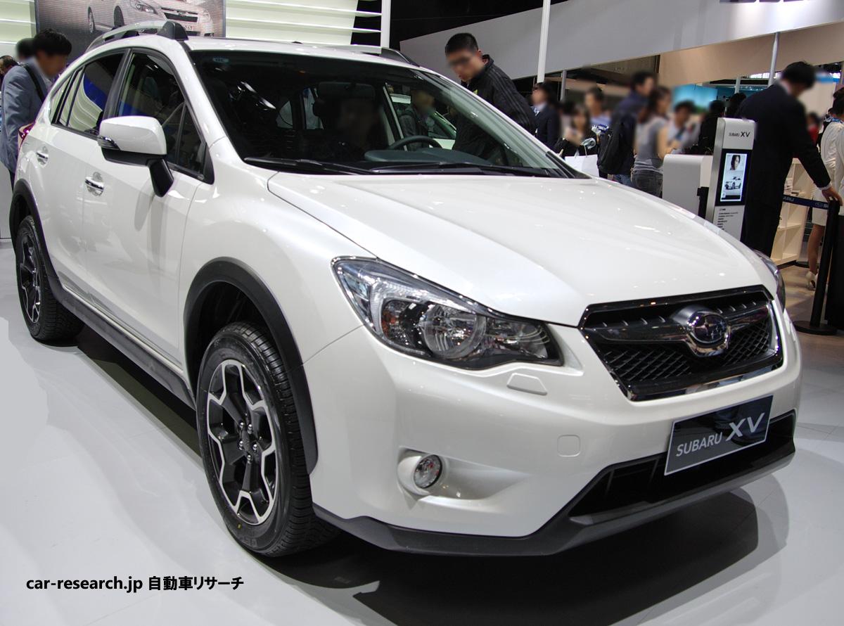 スバル XV インプレッサXVの予約受付が開始される、スバルの新型SUV【自動車リサーチ】 イン