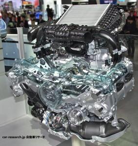 1.6L DIT 直噴ターボ ボクサーエンジン