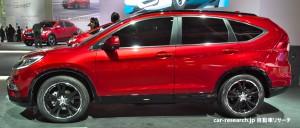CR-V 後期モデル パリモーターショー2014