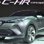 トヨタ C-HRコンセプト