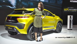 eX コンセプト 三菱自動車
