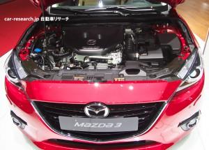 アクセラ Mazda3 SKYACTIV-D 1.5 エンジン