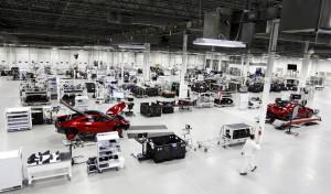 NSX 生産工場