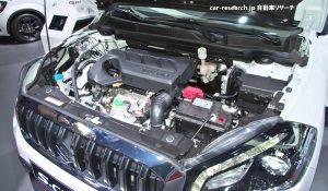 SX4 S-CROSS 1.0L ブースタージェットエンジン