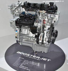 スズキ ブースタージェットエンジン1.0L