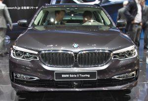BMW 5シリーズ ツーリング フロントグリル