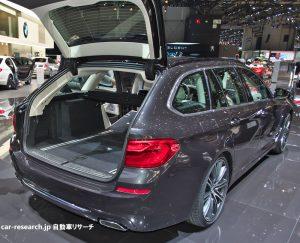 BMW 5シリーズ ツーリング トランクルーム