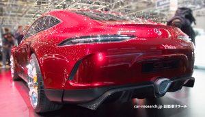 メルセデスAMG GTコンセプト マフラー