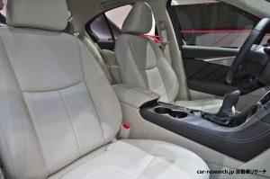 Q50 スカイライン フロントシート