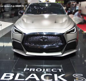 Infiniti Q60 Project Black S Concept フロントグリル