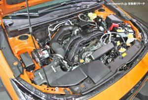 XV 2.0L水平対向エンジン