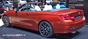 BMW4 カブリオレ リアコンビネーションランプ
