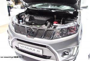 ビターラ S 1.4Lターボエンジン エスクード