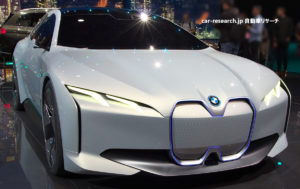 BMW i ヴィジョンダイナミクス フロントグリル