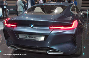 BMW 8シリーズ コンセプト マフラー