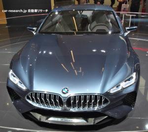 BMW8シリーズ コンセプト フロントグリル