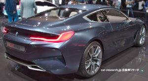 BMW 8 コンセプト リアコンビネーションランプ