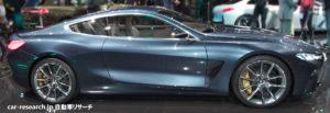 BMW 8シリーズ コンセプト フランクフルトモーターショー