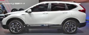 CR-V ハイブリッド フランクフルト2017