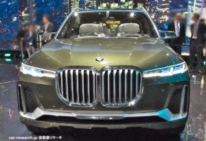 BMW X7コンセプト フロントグリル