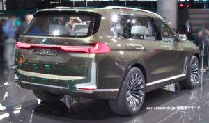 BMW X7コンセプト リアコンビネーションランプ