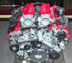 フェラーリ ポルトフィーノ V8エンジン