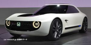 ホンダ スポーツ EV コンセプト 東京モーターショー