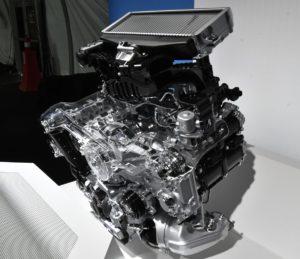 2.4Lターボ水平対向エンジン