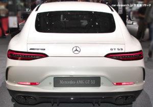 メルセデスAMG GT 53 バックドア
