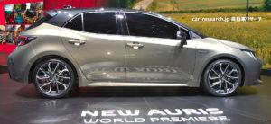 トヨタ 新型オーリス ジュネーブモーターショー2018