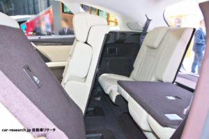 RX450hL 三列目シート