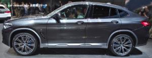 BMW X4 ジュネーブモーターショー2018