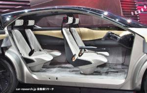 日産IMx-kuroコンセプト シート