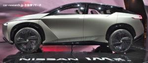 日産 IMx-KURO コンセプト ジュネーブモーターショー2018