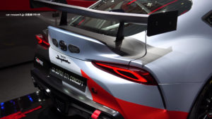 GRスープラ GT4 リアウィング