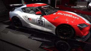 GRスープラ GT4 コンセプト ジュネーブモーターショー