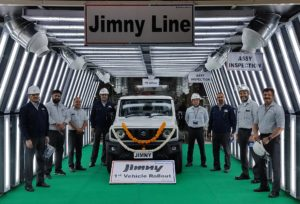 ジムニー インド生産