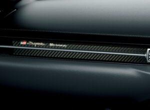 スープラ35周年特別仕様車インテリア